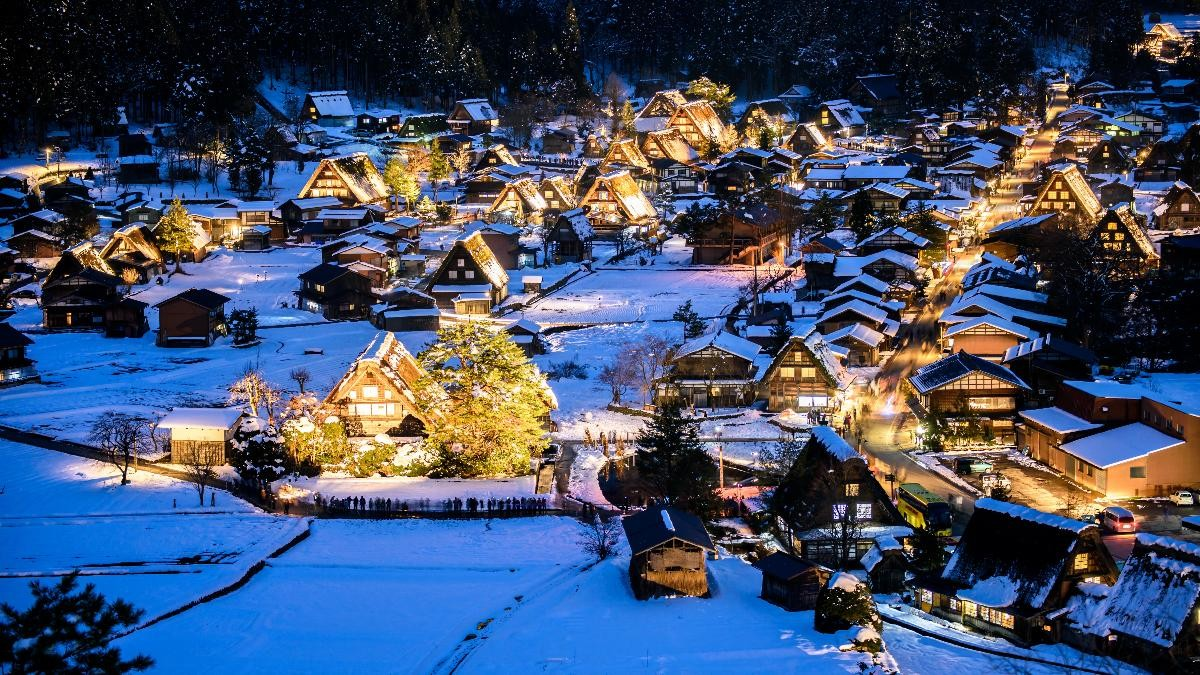 New rules for participants of Shirakawago Light up event 2019